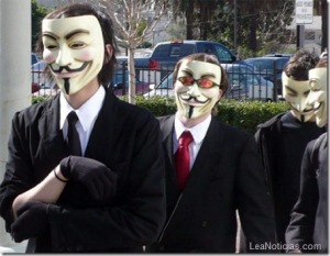 Anonymous llega a Venezuela