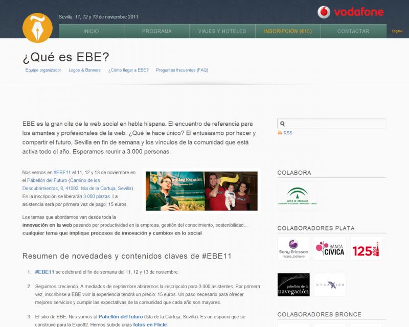 Pagina EBE