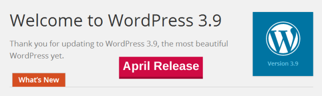 wordpress-3-9-gets-april-release-date