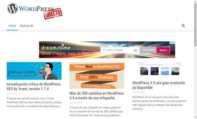 Wordpress Directo