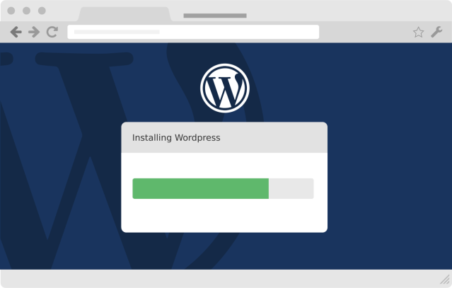 Administrar wordpress hosting