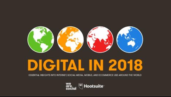 Datos globales Internet en el mundo 2018