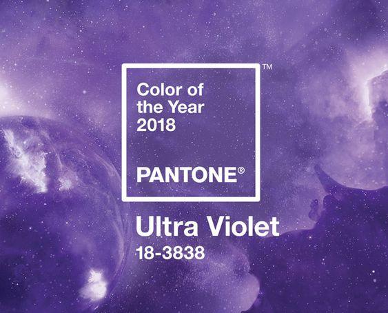 Ultraviolet, el color de2018